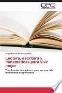libro Lectura, Escritura Y Matemáticas Para Vivir Mejor