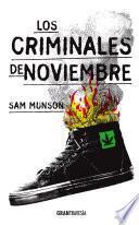 libro Los Criminales De Noviembre