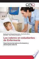 libro Los Valores En Estudiantes De Enfermería
