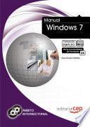 libro Manual Windows 7. Formación Para El Empleo