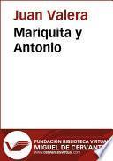 libro Mariquita Y Antonio