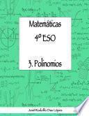 libro Matem‡ticas 4¼ Eso - 3. Polinomios