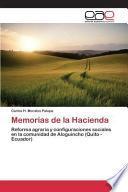 libro Memorias De La Hacienda