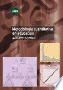 libro MetodologÍa Cuantitativa En EducaciÓn