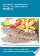 libro Mf0295_2   Almacenaje Y Expedición De Carne Y Productos Cárnicos