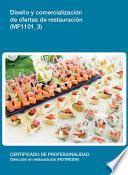 libro Mf1101_3   Diseño Y Comercialización De Ofertas De Restauración