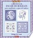 libro Motivos De Encaje De Bolillos