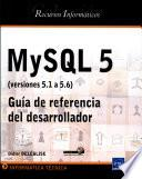 libro Mysql 5 (versiones 5.1 A 5.6)