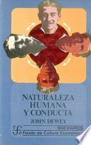 libro Naturaleza Humana Y Conducta