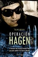 libro Operación Hagen