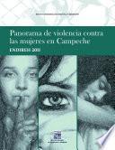 libro Panorama De Violencia Contra Las Mujeres En Campeche Endireh 2011