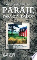 libro Paraje Para Olvidados