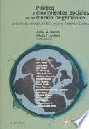 libro Política Y Movimientos Sociales En Un Mundo Hegemónico