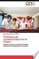 libro Prácticas De Lectoescritura En El Hogar