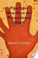 libro Principios Filosóficos Del Pensamiento Hábil