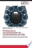 libro Producción Y Caracterización De Recubrimientos De Cnx