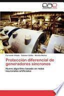 libro Protección Diferencial De Generadores Síncronos