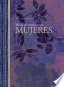 libro Rvr 1960 Biblia De Estudio Para Mujeres, Tapa Dura Con índice