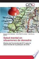 libro Salud Mental En Situaciones De Desastre