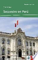 libro Secuestro En Perú