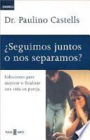 libro ¿seguimos Juntos O Nos Separamos?