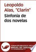 libro Sinfonía De Dos Novelas ( Su único Hijo .  Una Medianía )