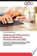 libro Sistema De Información Para La Planta De Producción Del Cbq
