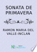 libro Sonata De Primavera