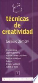 libro Técnicas De Creatividad