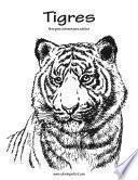 libro Tigres Libro Para Colorear Para Adultos 1