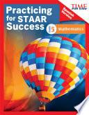 libro Time For Kids Practicing For Staar Success: Mathematics: Grade 5 (spanish Version)