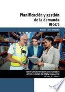 libro Uf0475   Planificación Y Gestión De La Demanda