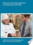 libro Uf1090   Dirección Y Recursos Humanos En Restauración