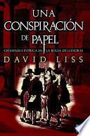 libro Una Conspiración De Papel