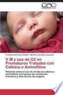 libro V. M Y Uso De O2 En Prematuros Tratados Con Cafeína O Aminofilina
