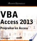 libro Vba Access 2013