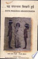libro Yah Sampannata Bikhari Hui (esta Riqueza Abandonada)