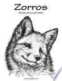 libro Zorros Libro Para Colorear Para Adultos 1