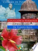 libro Colección De Hermosos Poemas Clásicos De Puerto Rico