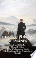 libro Cuatro Poetas Alemanes