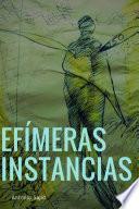 libro Efimeras Instancias (paperback)