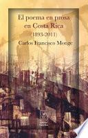 libro El Poema En Prosa En Costa Rica (1893 2011)