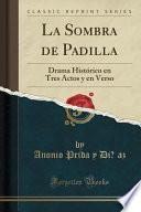 libro La Sombra De Padilla