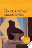 libro Once Poetas Argentinos