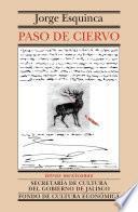 libro Paso De Ciervo