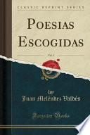 libro Poesias Escogidas, Vol. 2 (classic Reprint)