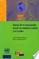 libro Claves De La Innovación Social En América Latina Y El Caribe
