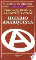 libro Ideario Anarquista / Anarchism
