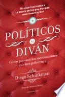 libro Políticos Al Diván