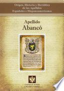 libro Apellido Abancó